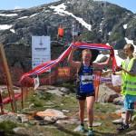 Med tiden 52.07, var Eli Anne Dvergsdal best blant damene. Foto: Nils Tungland