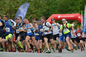 Hovlandsnuten Opp har fått norgescupstatus også i år, som eitt av fem løp. Foto: Anders Huseby.