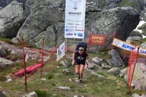Marthe Kristoffersen var raskest i sherpaklassen for damer og satte løyperekord. Foto: Nils Tungland.